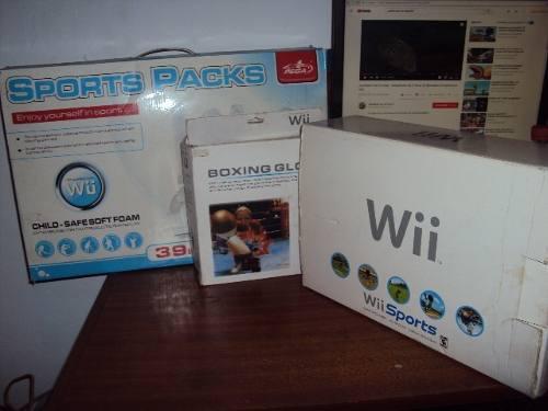 Juegos De Nintendo Wii + Accesorios O Se Vende O Cambia