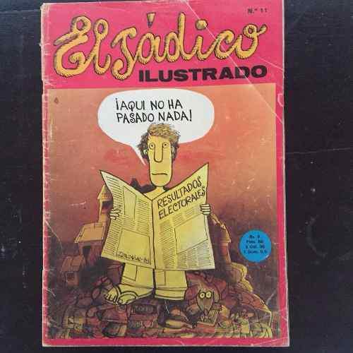 Revista El Sadico Ilustrado #11 Pedro Leon Zapata