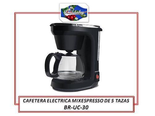 Uce152- Cafetera Electrica 6 Tazas Mixespresso, Barista