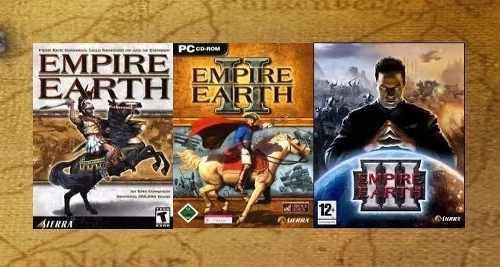 Juego De Pc Empire Earth +expanción En Español Digital