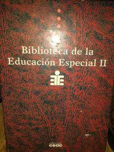 Libros Profesionales Educación Especial Enciclopedia De