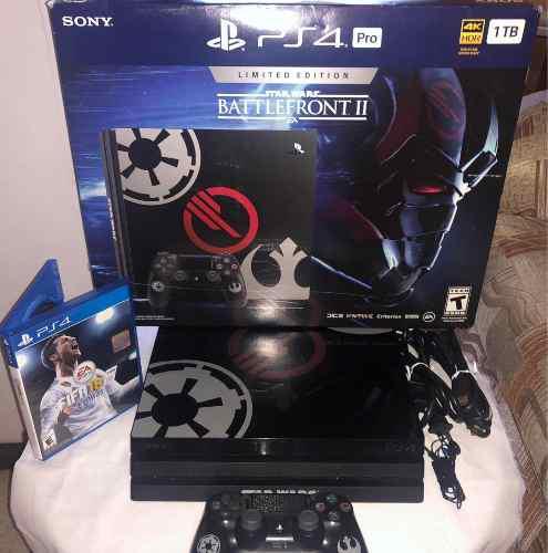 Playstation 4 Pro | Ps4 Pro 1 Tb | Edición Especial Star