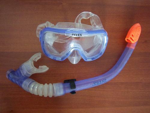 Mascara De Buceo Con Snorkel