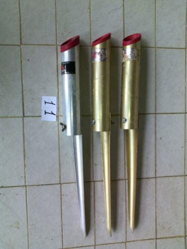 Porta Caña De Pesca De Orilla De Aluminio