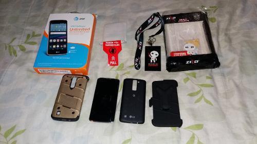 Telefono Celular Lg Phoenix 2 4g Con Forro Y Vidro Templado