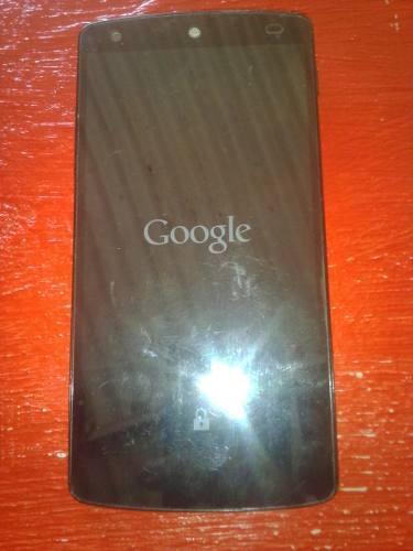 Telefono Nexus 5 Para Respuesto O Reparar