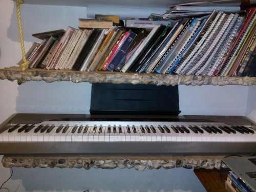 Piano Casio Privia 4oo Vrds Modelo Px110 En Perfecto Estado!