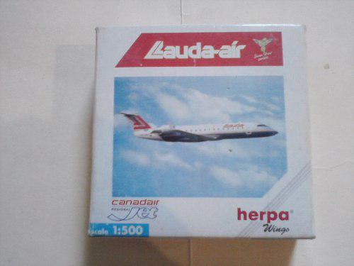 Avión A Escala 1/500 Crj Lauda Air
