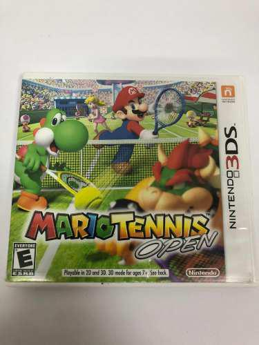 Juego Mario Tennis Open Nintendo 3ds Original
