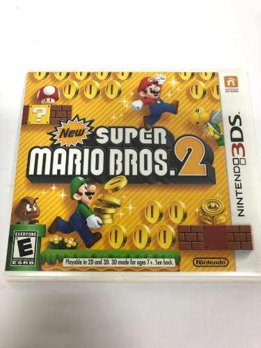 Juego Super Mario Bros 2 Nintendo 3ds Original