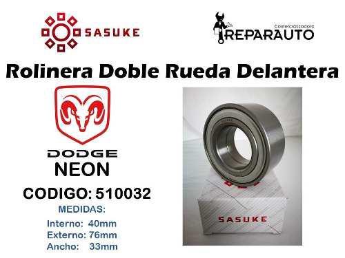 Rolinera Rodamiento Rueda Delantera Neon 1994-1999 40x76x33