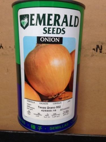 Semilla De Cebolla Esmerald 502 Garantizada