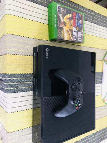 Vendo Por Motivo De Urgencia Xbox One 1 Control Y 3 Juegos