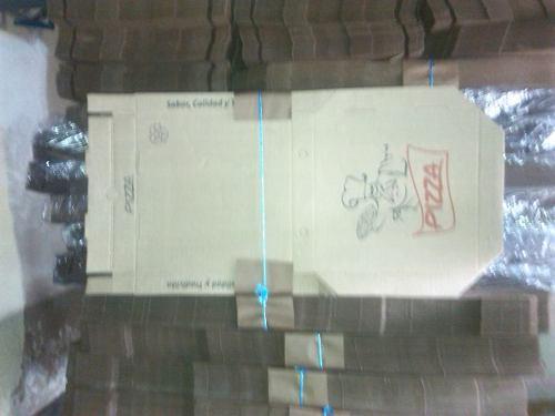 Cajas De Pizza Micro Corrugada 33x33 Y 40x40