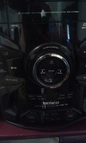 Equipo De Sonido Sony Genezi 300 Verdes
