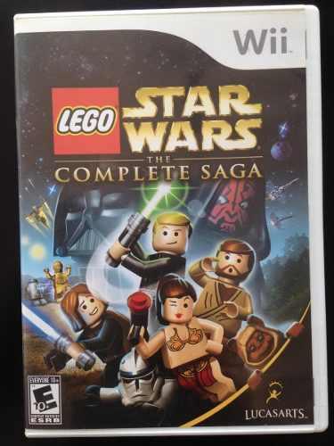 Star Wars Juego De Wii Saga Completa