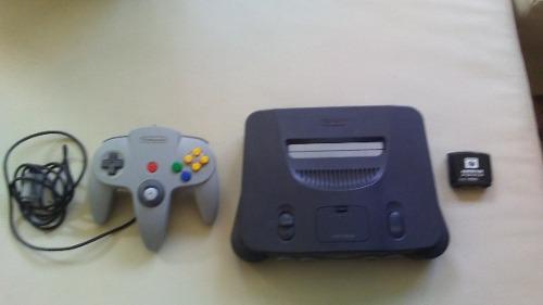 Nintendo 64 Con 1 Control Sin Cables