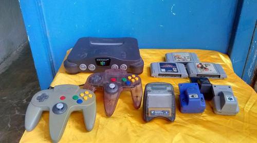 Nintendo 64 O Vendo O Cambio Por Celular Samsung