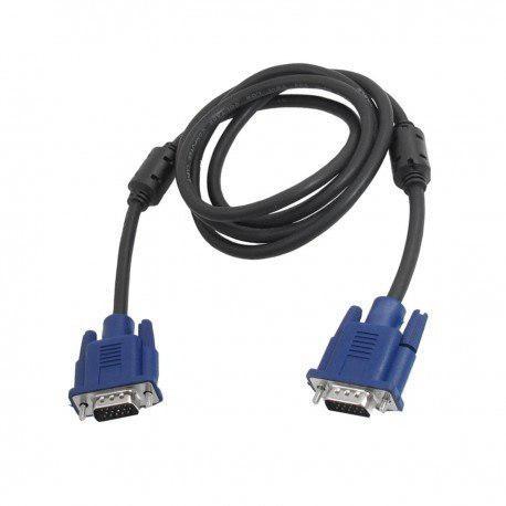 Cable Video Vga Monitor Pc Dvr Laptop Macho Macho 1.5 Metros