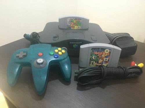 Consola Nintendo 64 Super Mario 64 Y Banjo Kazooie