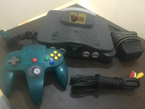 Consola Nintendo 64 Zelda Ocarina De Tiempo
