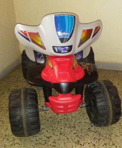 Moto 4 Ruedas Electrica P/niños Cyclone