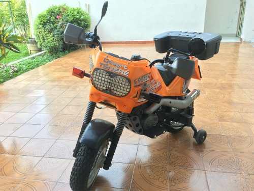 Moto A Bateria Para Niño.