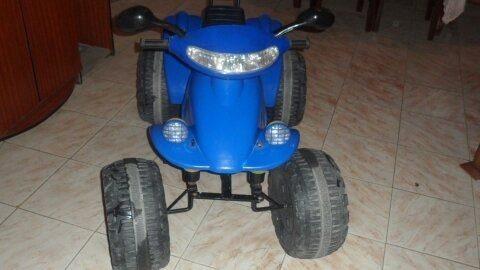 Moto De Niños 4 Ruedas Usada