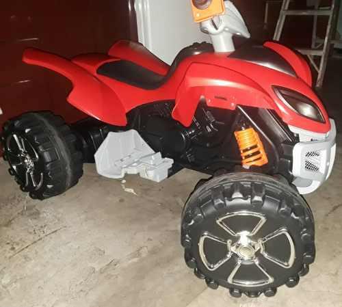 Moto Eléctrica De 4 Ruedas Y Dos Velocidades