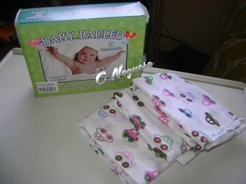 Pañales De Tela Para Niño Baby Paulet Caja De 3 Unidades