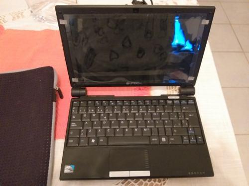 Remate Mini Laptop Utech Como Nueva Con Estuche 100% Operati