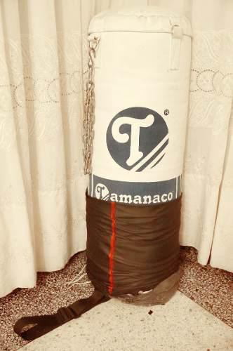 Saco De Boxeo Tamanaco 99cm + Bolso Protector + Cadena