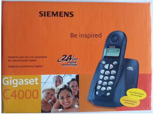 Telefono Inalambrico Siemens C4000 Caller Id (60.00d)