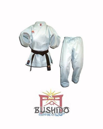 Uniforme, Kimono De Karate Bushido Liviano Talla 000 Al 0