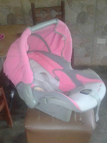 Porta Bebe Happy Baby Como Nuevo Silla De Coche!!