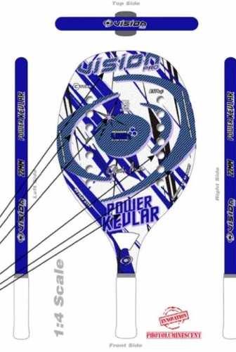 Raqueta De Beach Tennis Vision Power Kevlar