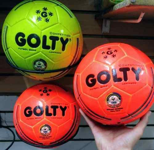 Balon De Futsal Marca Golty Nuevo