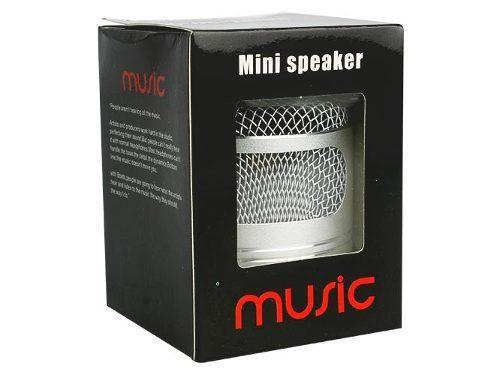Corneta Portatil Mini Speaker Music (cilindro)