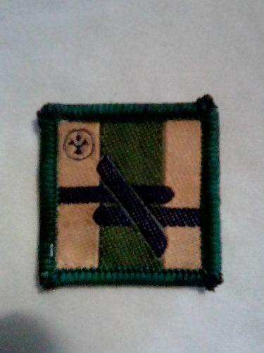 Insignia Scout De Adelanto Tropa Aventurero