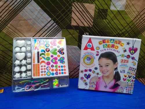Kit De Pulceras Y Collares De Cerámica Para Niñas Juguetes