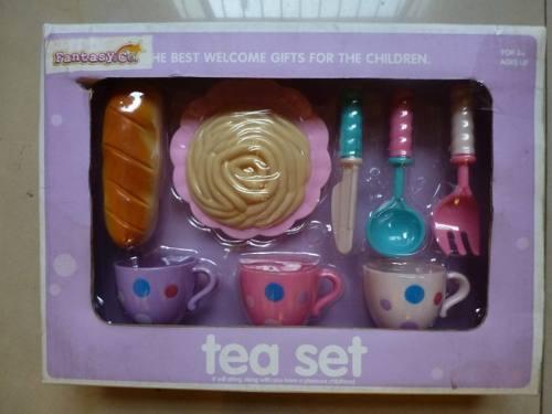 Set De Te Para Niñas De 8 Piezas
