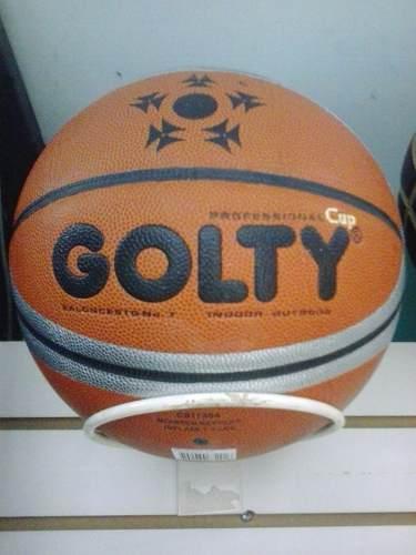 Balon De Baloncesto Marca Golty Profesional De Cuero