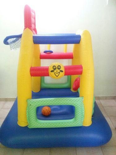 Castillo Infalible Para Niños Pequeños Con Canasta