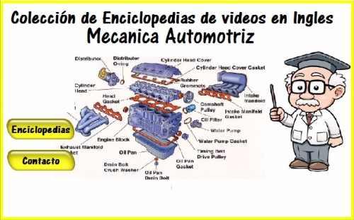 Colección De Enciclopedias De Mecánica Automotriz En