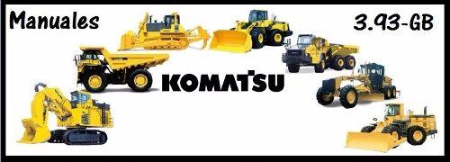 Komatsu 3.93 Gb Manuales En Pdf
