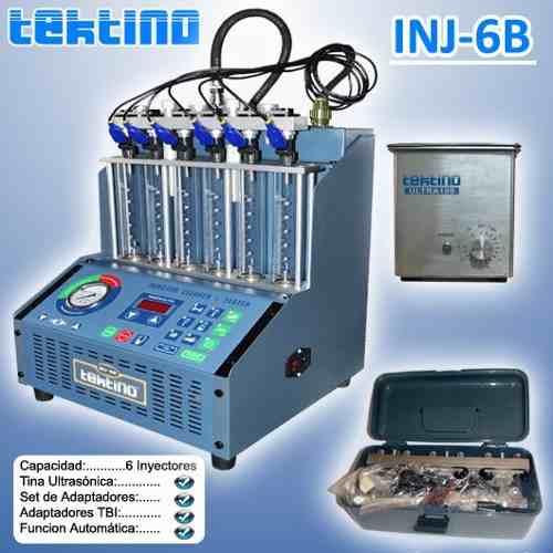 Maquina De Limpieza De 6 Inyectores C/ultrasonido Y Acces