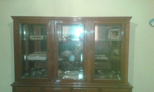 Mueble Seibo En Caoba