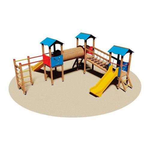 Parque Infantil Madera Oferta