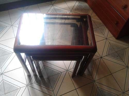 Regalo Trío De Mesas + Set 7 Platos + Set 3 Especieros