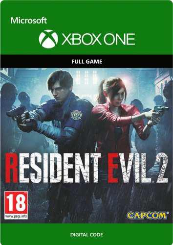 Resident Evil 2 Xbox One- Código! Digital